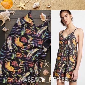 🌴🔆HURLEY- DRESS/COVER UP FLORAL TANK DRESS🔆🌴